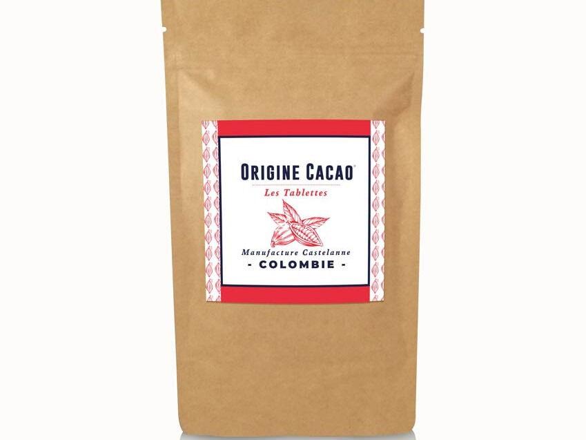 Maison Castelanne Chocolat Tablette Colombie - Maceo 72% - Fèves Origine Bio