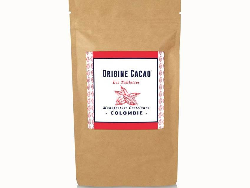 Maison Castelanne Chocolat Tablette Colombie - Maceo 72% - Fèves Origine Bio