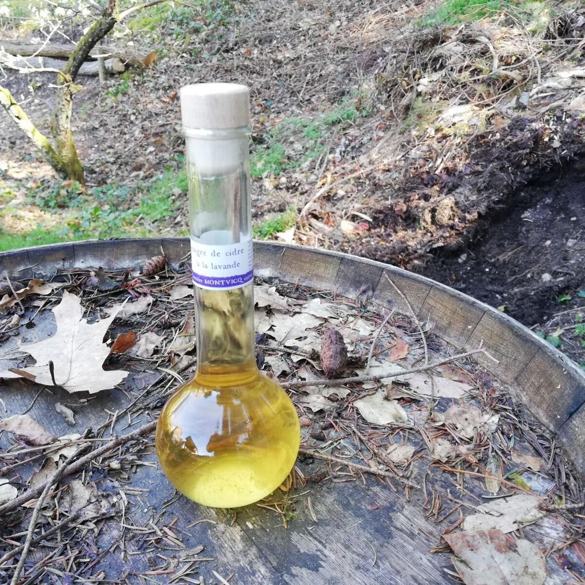 Vinaigres de la Carrière Vinaigre de Cidre à la Lavande bio - 200 ml