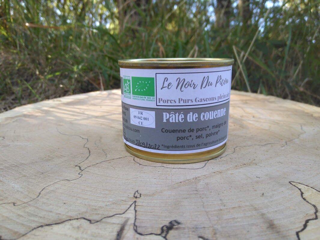 Le Noir du Picou Elodie Ribas Pâté de Couenne de Porc Gascon Bio
