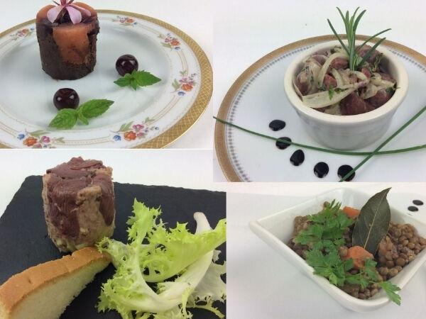 Christian Piot - Votre chef en ligne Panier Repas «menu Tout Canard» Pour 2 Personnes