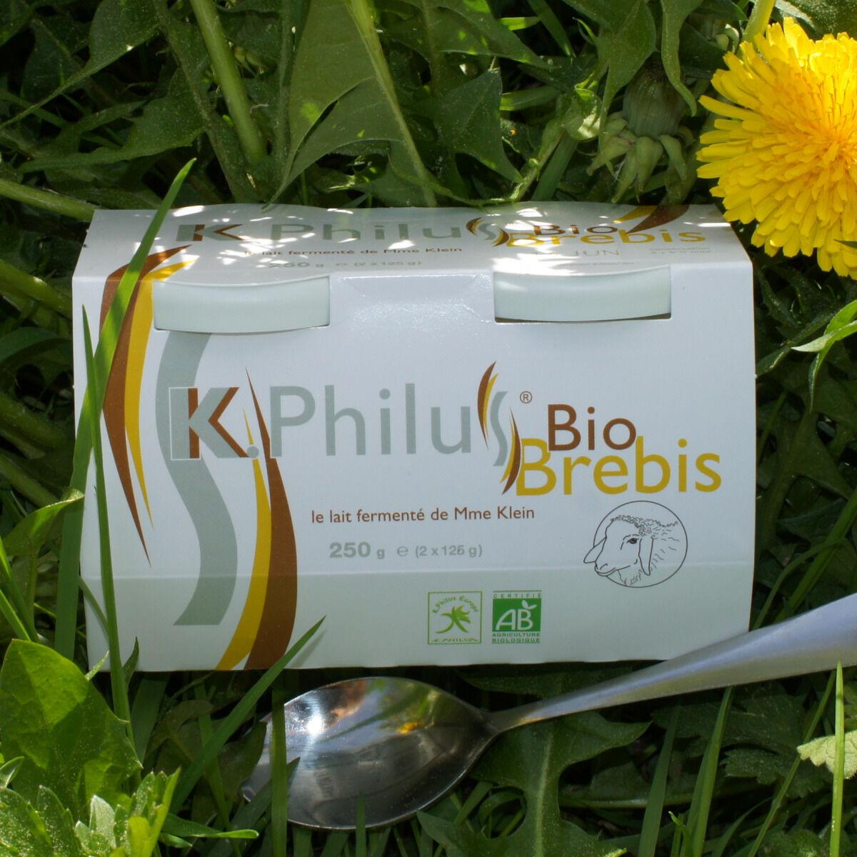 Laiterie du Climont - K-Philus 12 Pots De K-philus Au Lait Entier De Brebis