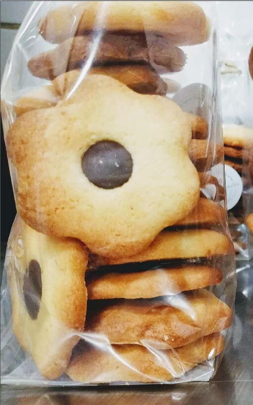 Les Cannelés d'Audrey Sables BIO avec pépites de chocolat Sans Gluten