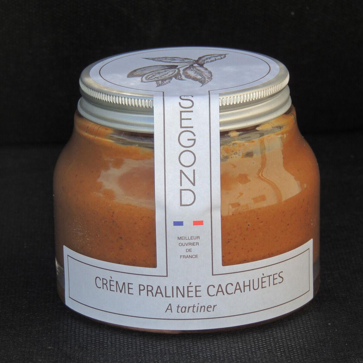 Philippe Segond MOF Pâtissier-Confiseur Pâte À Tartiner Pralinée à la cacahuète