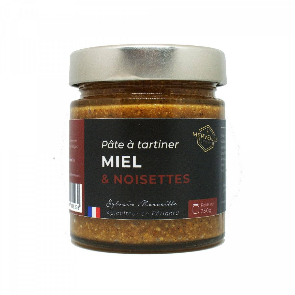 Merveille Apiculture Pâte À Tartiner Miel & Noisettes