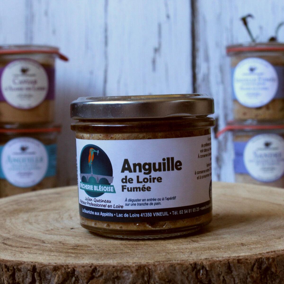 La Bourriche aux Appétits Rillettes d'anguille de Loire Fumée 80 g