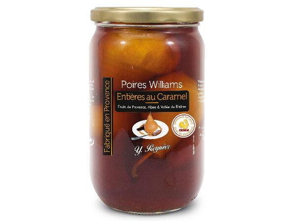 Conserves Guintrand Poires Williams Entières Yr Au Caramel Bio - Bocal 850ml