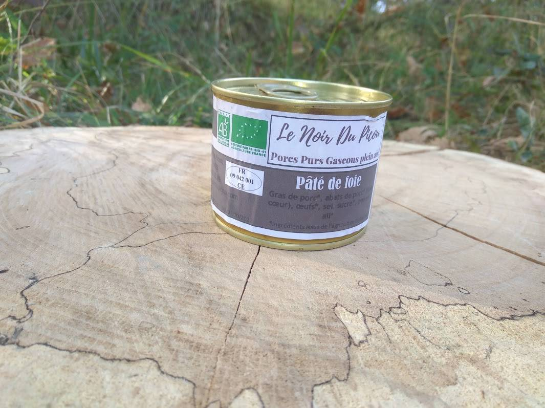 Le Noir du Picou Elodie Ribas Pâté de Foie de Porc Gascon Bio