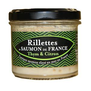 Saumon de France Rillettes De Saumon De France Thym & Citron