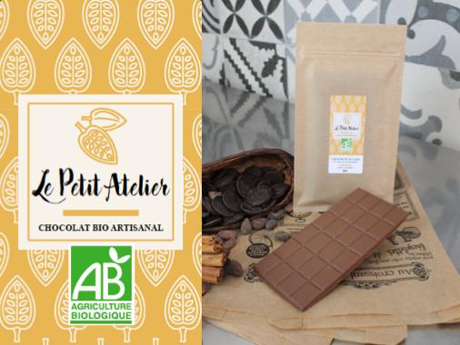 Le Petit Atelier Barahona - Tablette Chocolat Au Lait 37% De Cacao Minimum
