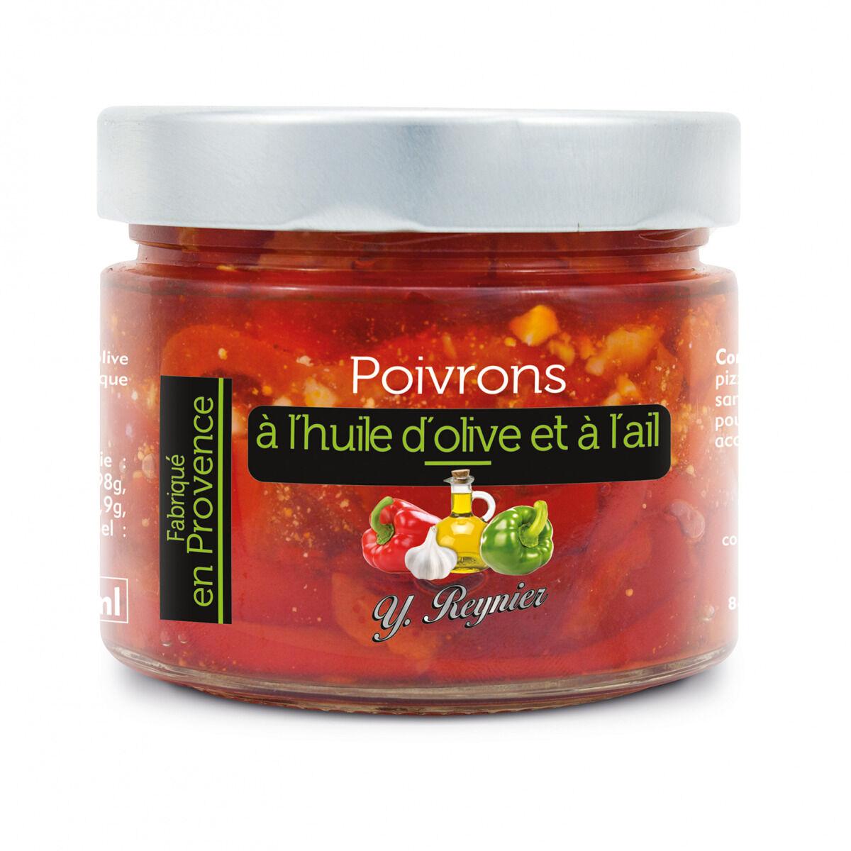 Conserves Guintrand Poivrons À L'huile D'olive Et À L'ail Yr 314ml