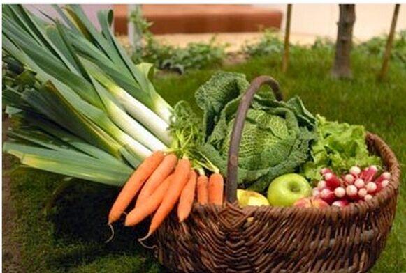 Au bon Jardinet Panier de fruits & légumes de saison 10kg + petit cadeau :)