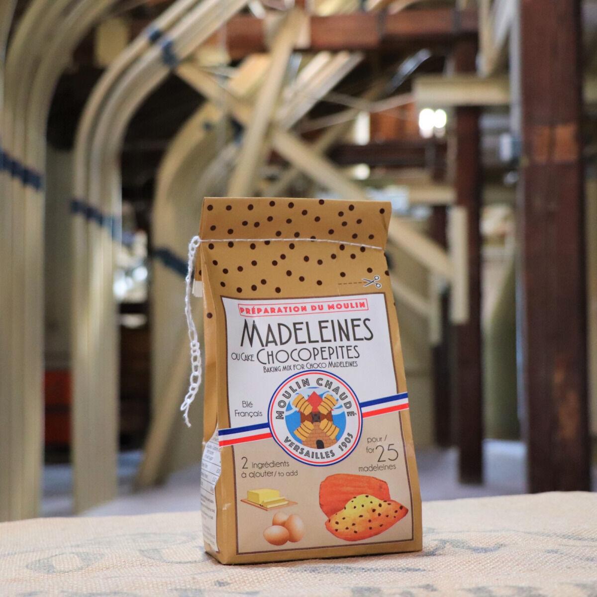 Moulins de Versailles Préparation Pour Madeleines Chocopépites - 375g