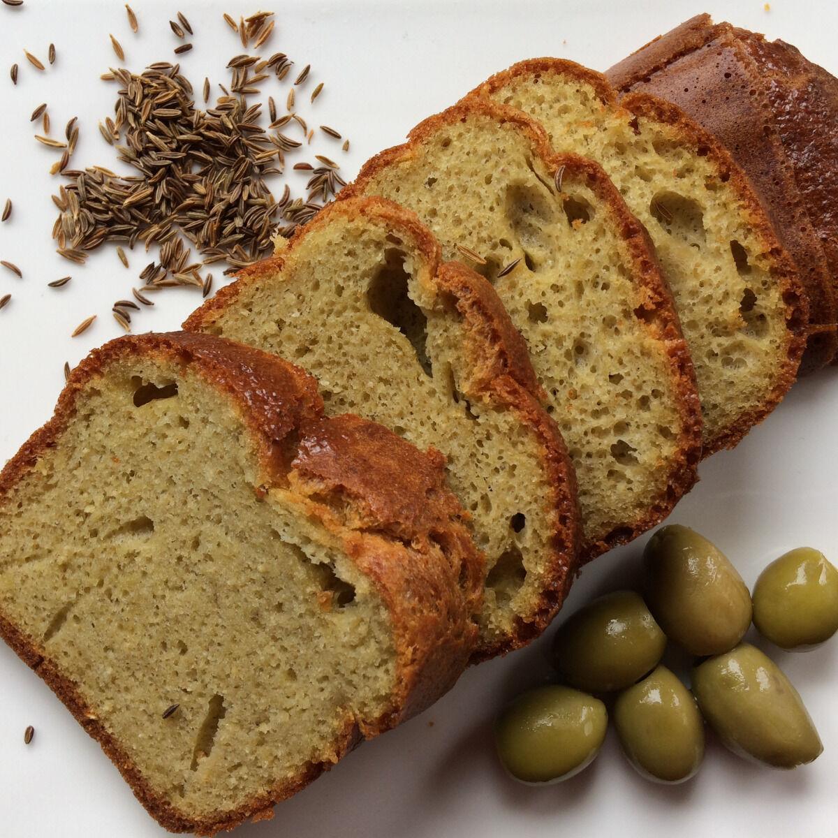 Les Cannelés d'Audrey Cake Méditerranéen Au Cumin Sans Gluten
