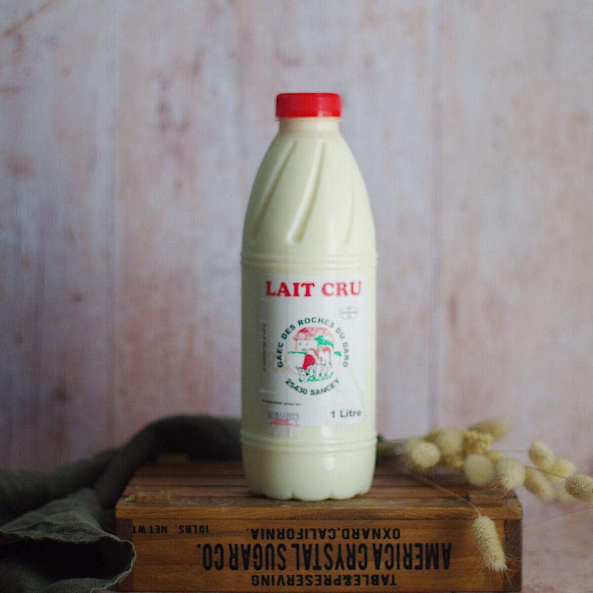 Ferme Chambon Lait Cru entier de Vache 1 litre