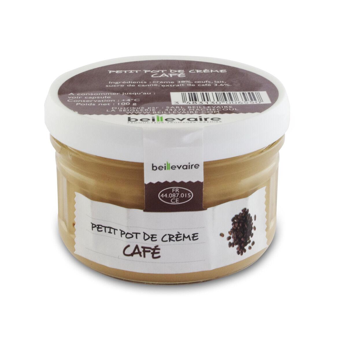 BEILLEVAIRE Petit pot de crème - Café