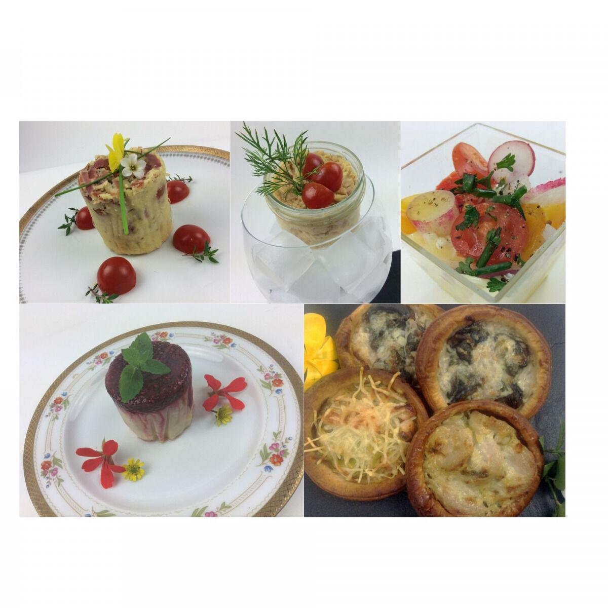 Christian Piot - Votre chef en ligne Panier repas végétarien «menu tout tomate» 5 créations pour 2 personnes.