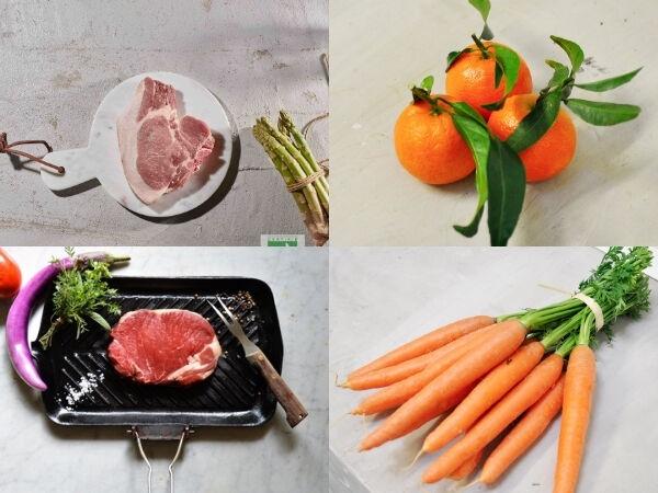 BEAUGRAIN, les viandes bien élevées Les Légumes Anciens et Grillades - 2 Repas pour 2 personnes