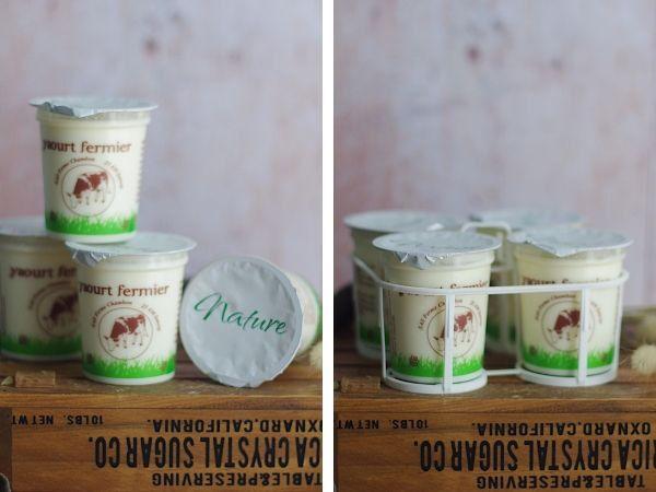 Ferme Chambon Yaourts au Lait Cru de Vache Natures x8