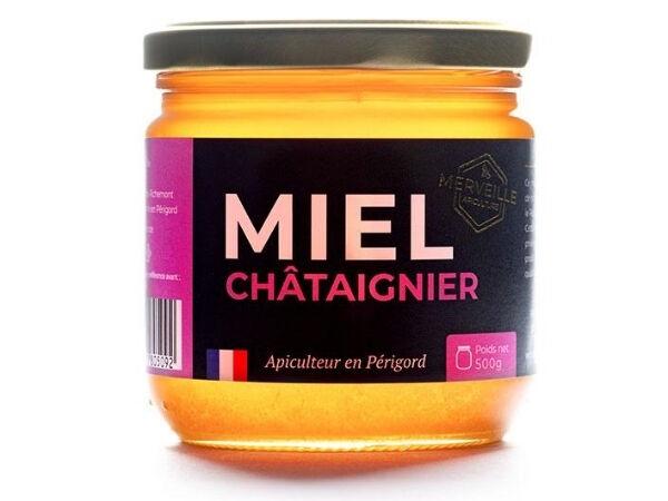 Merveille Apiculture Miel De Châtaignier