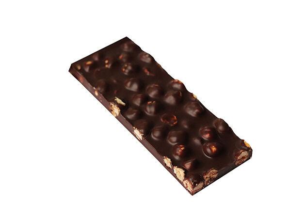 Maison Le Roux Tablette Chocolat Noir Noisettes 62% Cacao