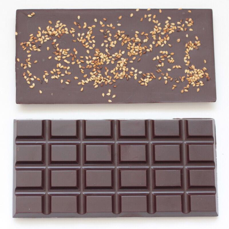 Mon Jardin Chocolaté Ma Tablette Bio Au Sésame