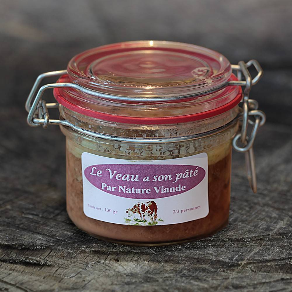 Nature viande - Domaine de la Coutancie Pâté de veau au foie gras