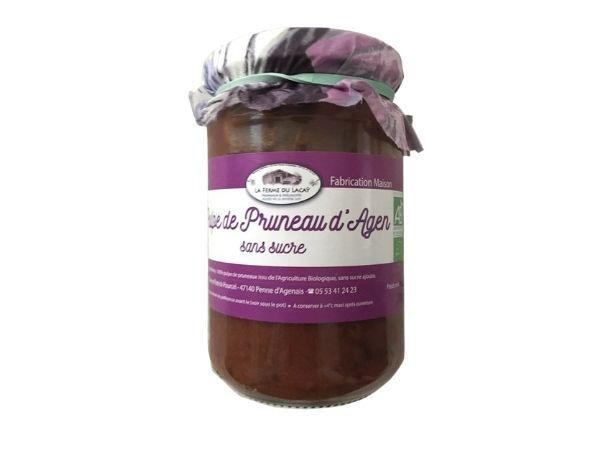 Ferme du Lacay Pulpe De Pruneaux D'agen Sans Sucre Bio - 320 G