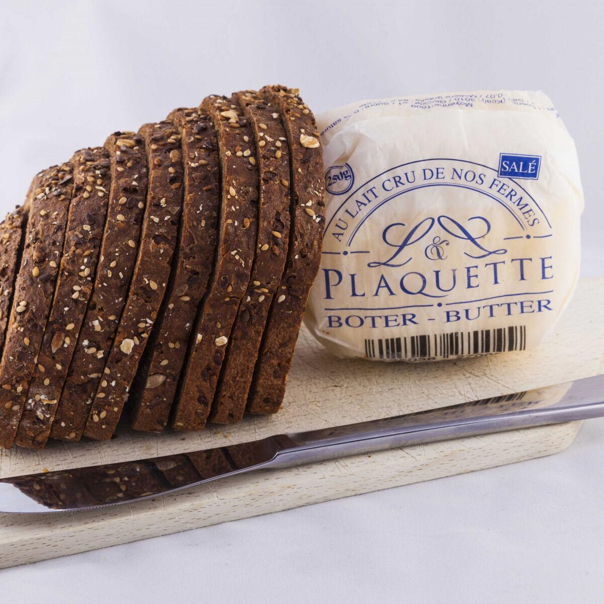 Beurre Plaquette Le Beurre Salé  Moulé  100g
