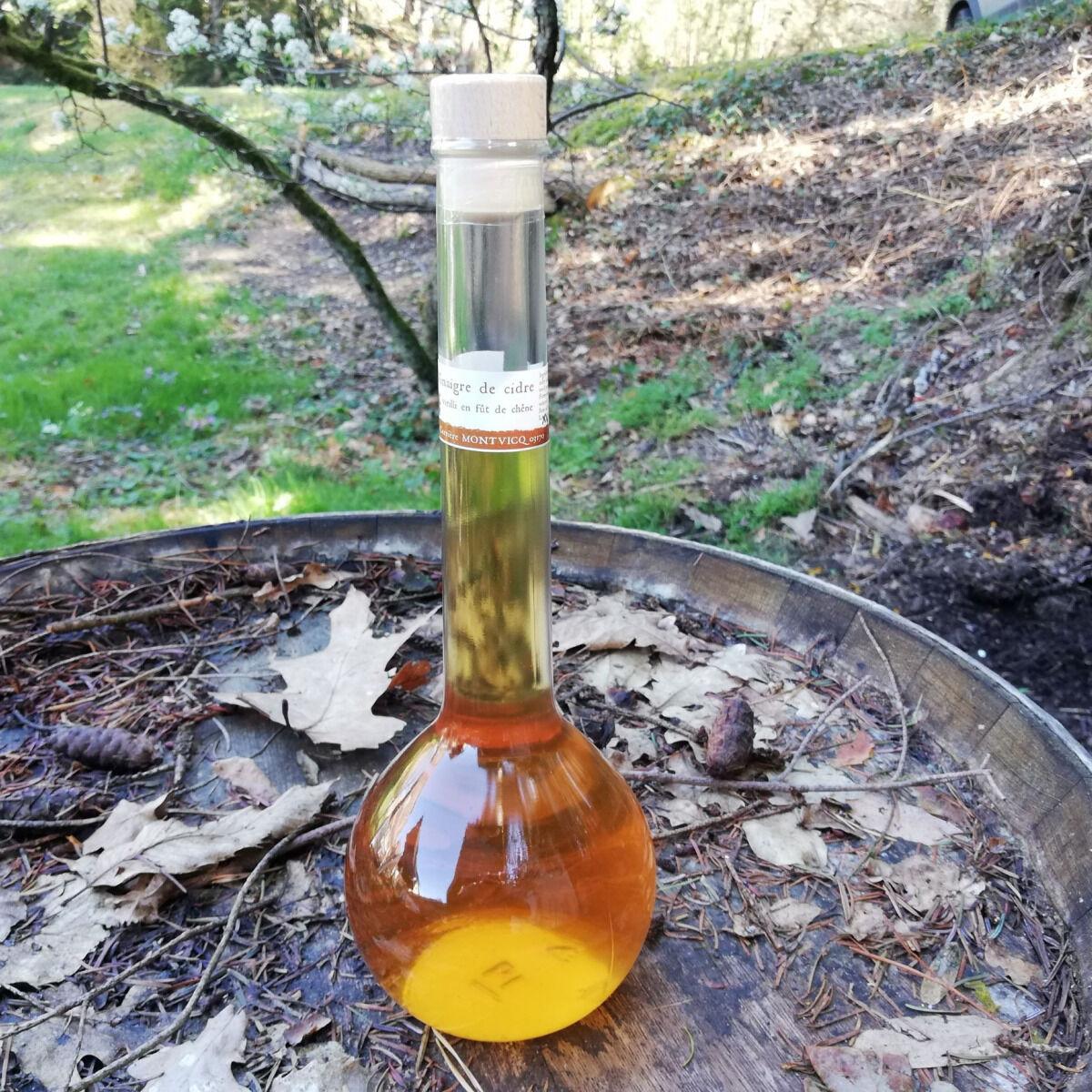 Vinaigres de la Carrière Vinaigre de Cidre bio Vieilli en Fût de Chêne - 500 ml