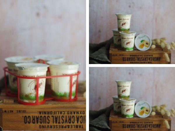 Ferme Chambon Yaourts au Lait de Cru de Vache et aux Fruits (Abricots) x12