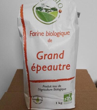 Cocotte et Potiron Farine De Grand Épeautre Bio (1kg)