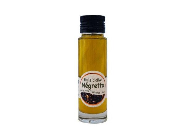 Les amandes et olives du Mont Bouquet Huile d'olive Négrette 10 cl