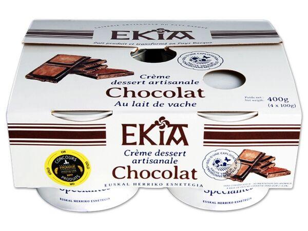BASTIDARRA Crème Dessert Chocolat 4*100gr