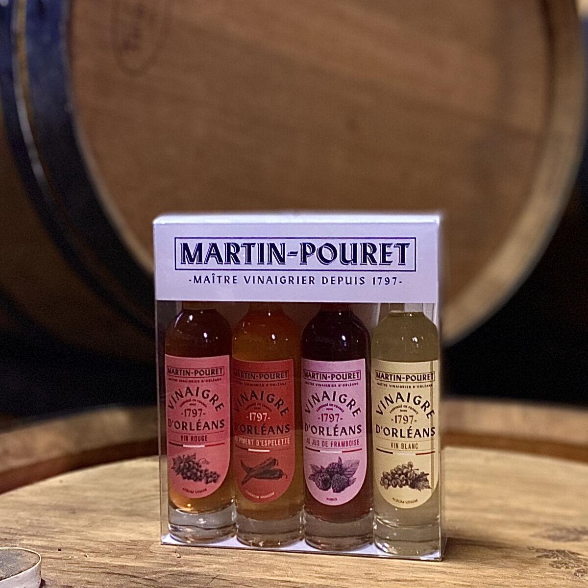 Maison Martin-Pouret Coffret Découverte 4 Vinaigres