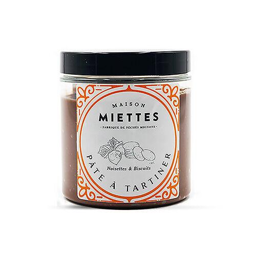 Maison Miettes Pâte À Tartiner Noisettes & Biscuits