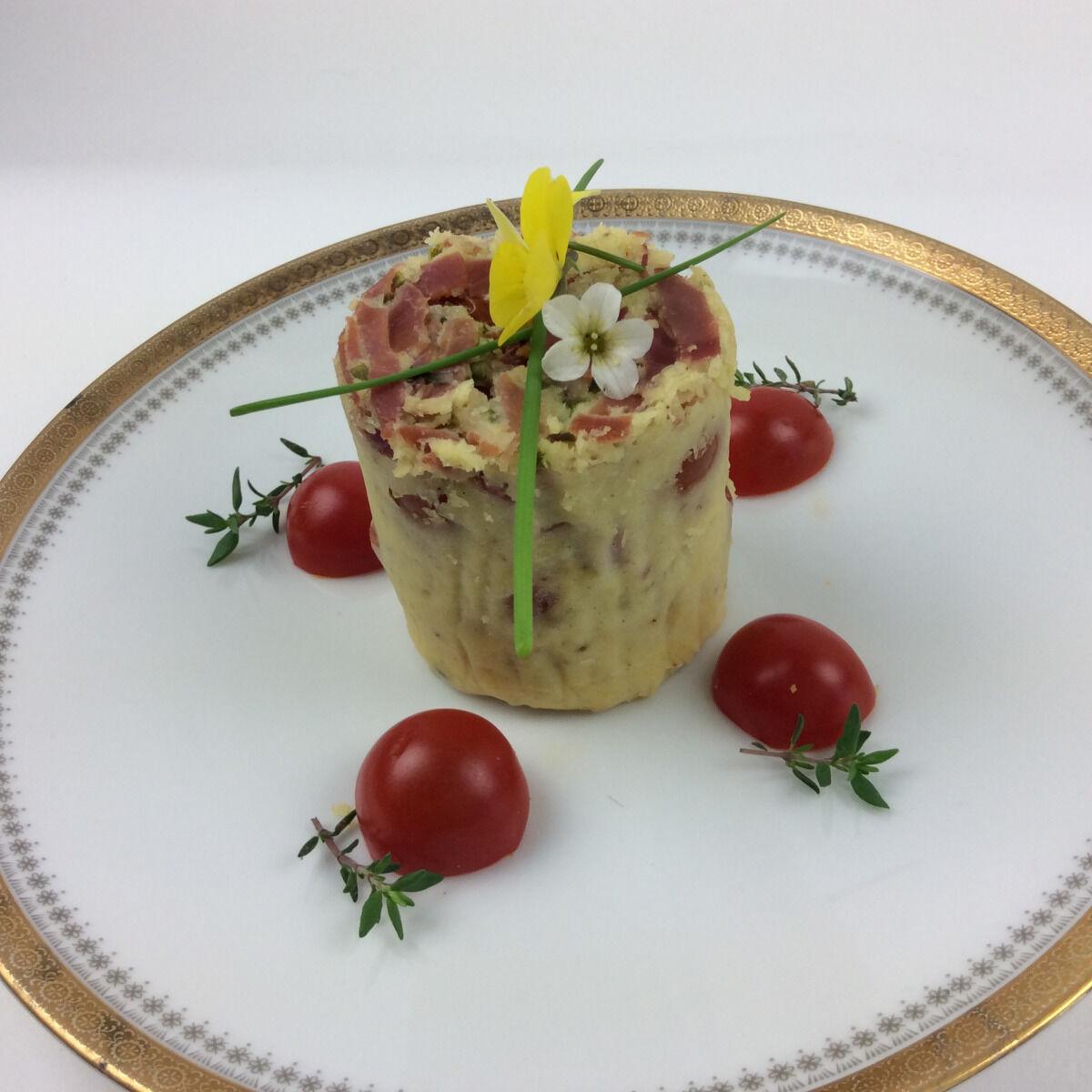 Christian Piot - Votre chef en ligne Clafoutis de tomate à la moutarde Reims