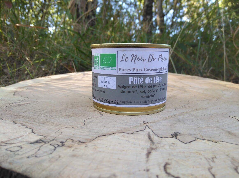Le Noir du Picou Elodie Ribas Pâté de Tête de Porc Gascon Bio