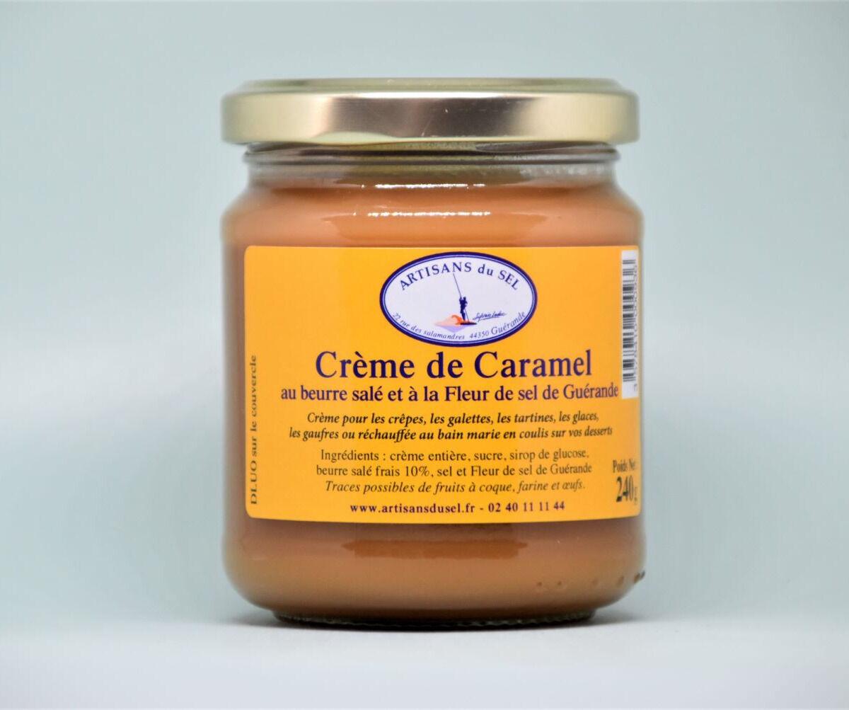 Artisans du Sel Crème de Caramel au Beurre Salé et à la Fleur de Sel de Guérande 240g