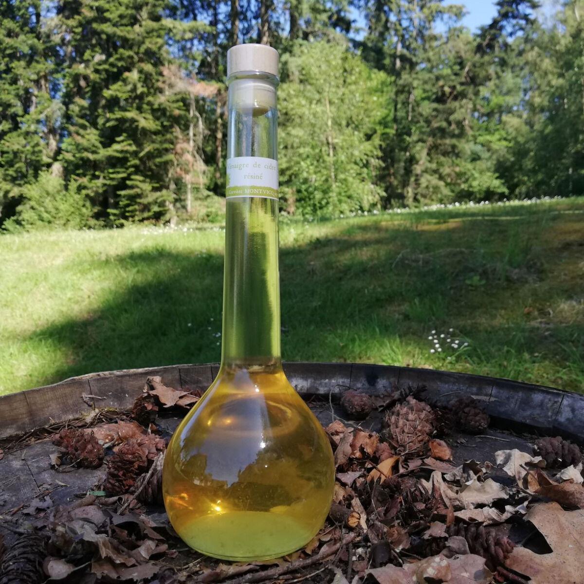 Vinaigres de la Carrière Vinaigre de Cidre Résiné bio - 500 ml