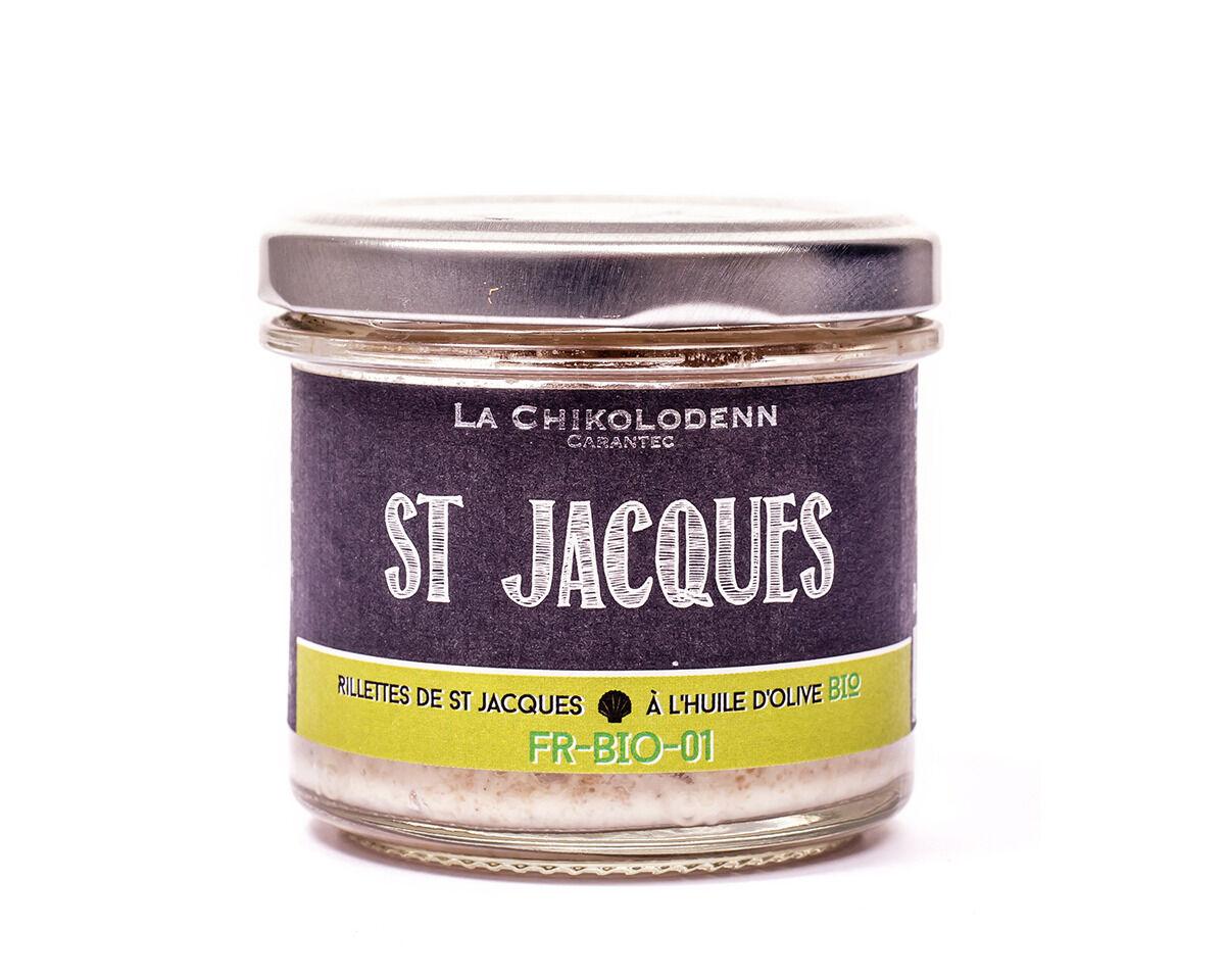 La Chikolodenn Rillettes De Saint Jacques À L'huile D'olive Bio