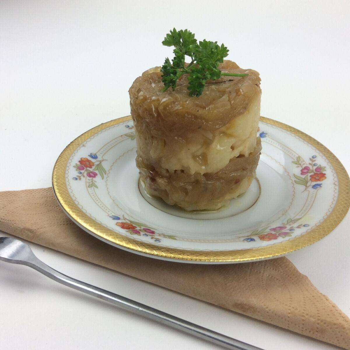 Christian Piot - Votre chef en ligne Marbré de pomme de terre au vinaigre de Reims