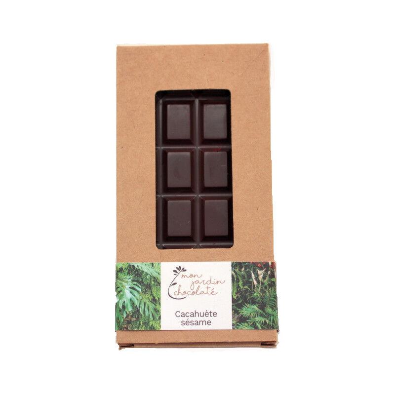 Mon jardin chocolaté Ma Tablette Cacahuète Sésame