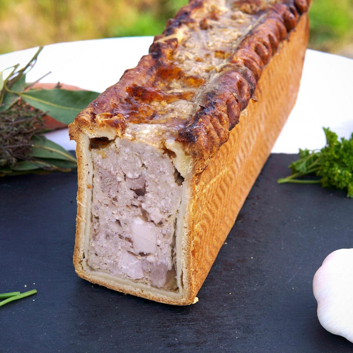 La Ferme du Chaudron Pâté en Croûte BIO - 180 g