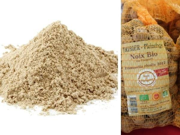 Ferme de Pleinefage Farine de Noix Bio Sans Gluten 5 kg