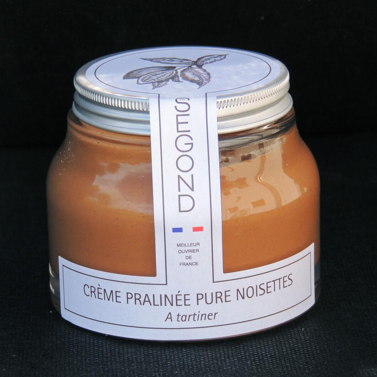 Philippe Segond MOF Pâtissier-Confiseur Pâte À Tartiner Pralinée Pure Noisettes Sans Huile De Palme