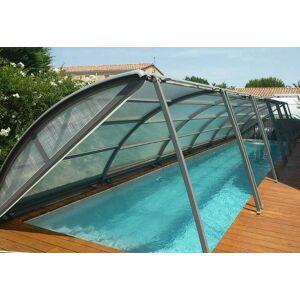 Abri piscine cintré amovible pour piscine de 6 x 3 m - Publicité