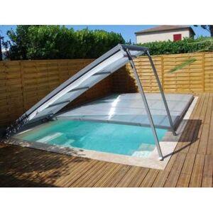 Abri piscine en kit : Plat amovible pour piscine 8 x 4 m - Publicité