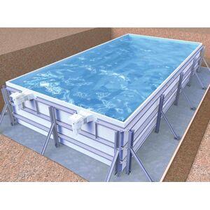 Piscine en kit Infinit eau by gardipool 5 x 3 x 1.39 m - Publicité