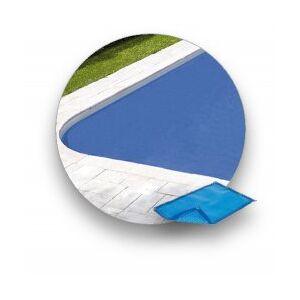 Excel Bâche à bulle 400 µ Bleu Riverso 3 x 6 m pour Coque Excel BD4C - Publicité